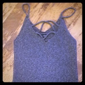 American Eagle sweater tank top